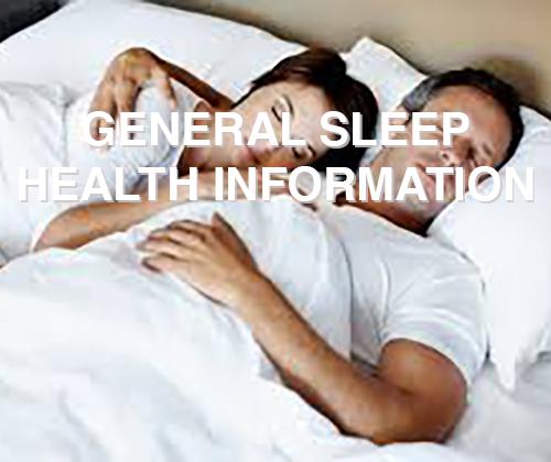 general sleep health info